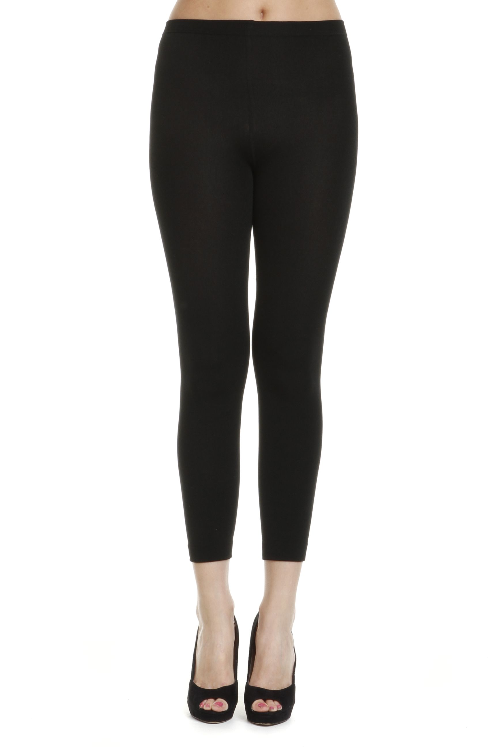 Stay warm and fashionable with these easy-to-wear flattering tights that have a soft fleece lining. Perfect under pants, dresses, skirts and tunics, they are 5/5.